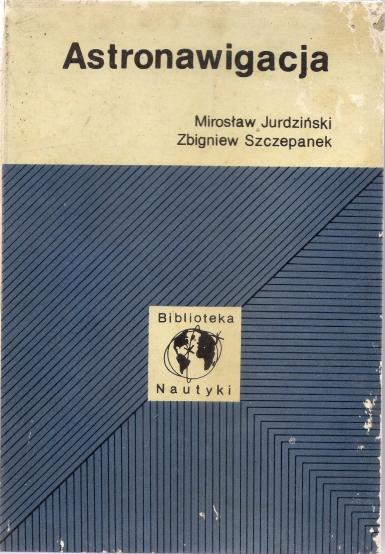 Książka o Astronawigacji z 1978 roku