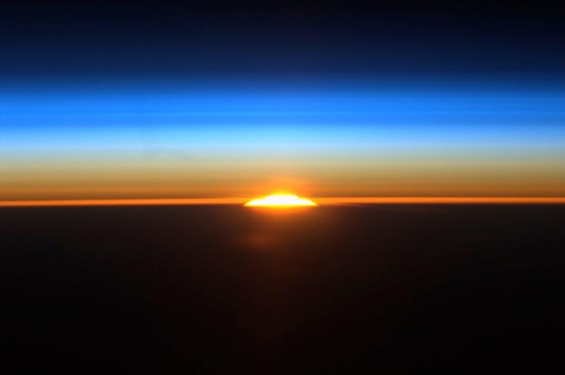 Wschód słonca z ISS 429/404 km