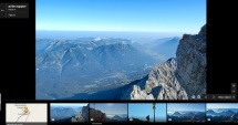 Horyzont nad górami i na poziomie oczu : Alpy Bawarskie , szczyt Zugspitze 2962 m , taki sam jak nad morzem, horyzont podnosi sie do gory wraz z wysokoscią na ktorej jestesmy i to proporcjonalnie , a to juz jest dowod że zyjemy wewnątrz ziemi : https://redoctobermsz.wordpress.com/?s=Horyzontu+w+kosmosie+ci%C4%85g+dalszy Gdyby horyzont obnizal się wraz z wysokością to bysmy zyli na zewnątrz ziemi , ale tak nie jest. Gdy lecimy samolotem rejsowym zawsze horyzont na tej wysokosci okolo 12 km nadal jest na poziomie oczu co swiadczy że żyjemy wewnątrz ziemi.
