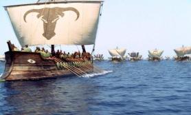 Galera jedyny okręt ktory mogł sforsowac ciesninę Bosfor z południa na północ do Jerozolimy/Yoros Turcja Izajasza 33:20,21 wg LXX