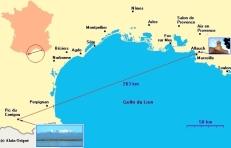 Widok Masywu Canigou z Lazurowego Wybrzeża jest spektakularnym dowodem że żyjemy wewnątrz ziemi