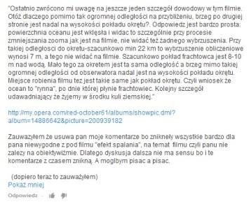 Część 2 usunietego mojego komentarza pod filmem gww15, krytycznym wzgledem filmu o efekcie lornetkowym