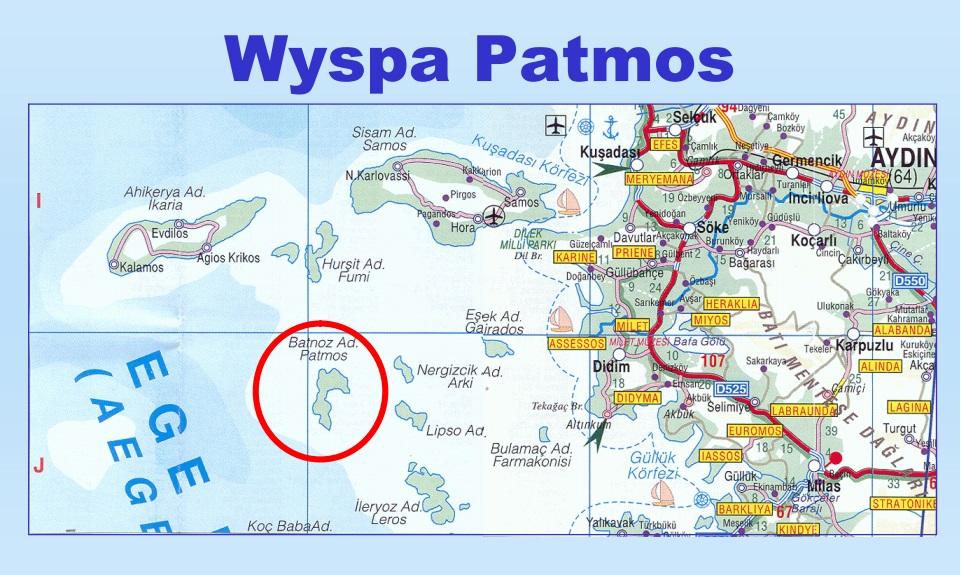Patmos, wyspa Jana