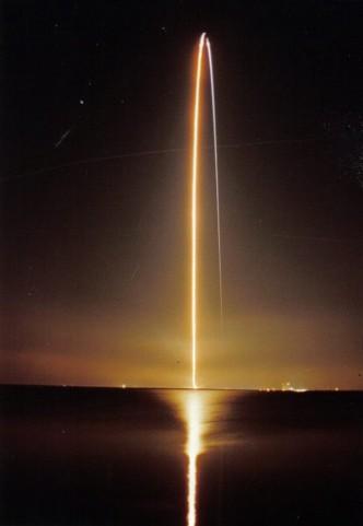 Start wahadłowca i to jak widzimy słońce to identyczna sytuacja, pytanie kto powiedzial ze slonce stoi?
